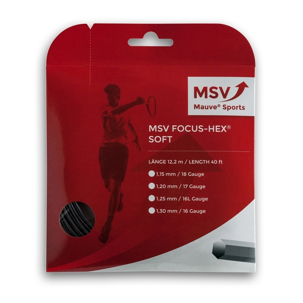 MSV FOCUS HEX SOFT - 40' Set | Strings