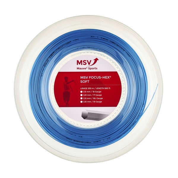 MSV FOCUS HEX SOFT - 660' Reel | Strings