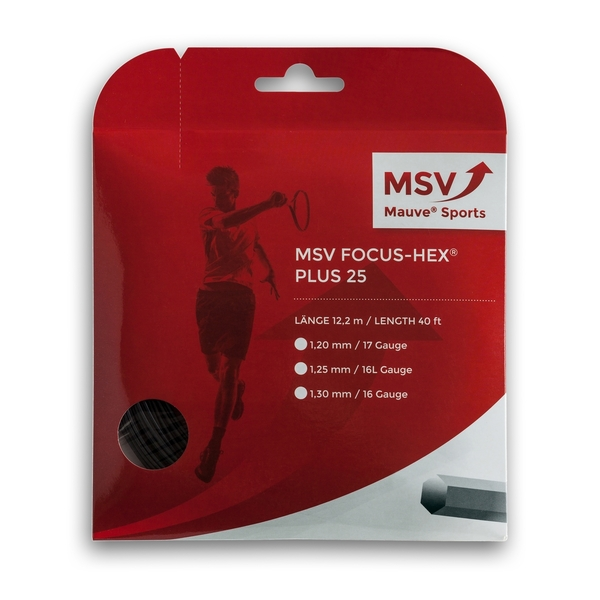 MSV Focus Hex +25 - 40' Set | Strings