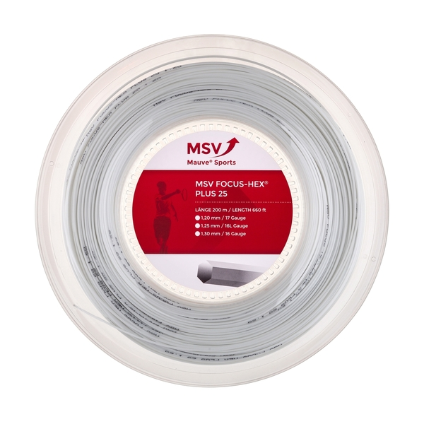 MSV Focus Hex +25 - 660' Reel | Strings