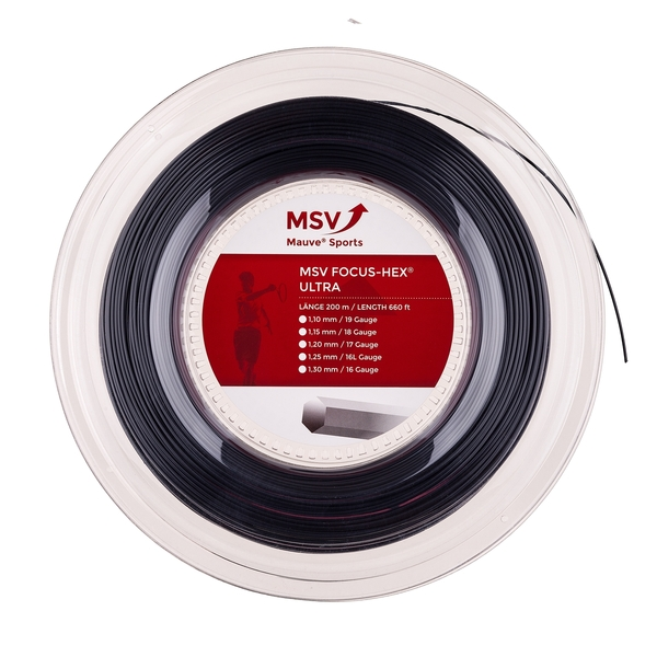 MSV Focus Hex Ultra - 660' Reel | Strings